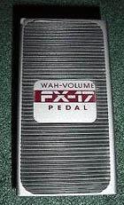 DOD Wah/Volume FX17