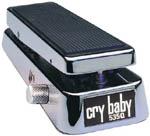 Dunlop Chrome Crybaby Wah 535QC