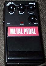 Aria Metal Pedal MP-5