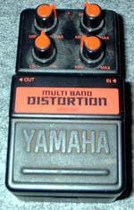 Yamaha Multi Band Distortion MBD-100