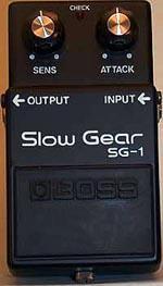 Boss Slow Gear SG-1