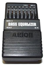 Arion Graphic EQ for Bass MEQ-2