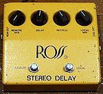 Ross Stereo Delay