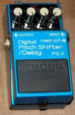 Boss Digital Pitch Shifter/Delay PS-2