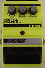 Gearbug Dod Metal Maniac Fx58