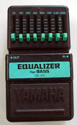 Yamaha Equalizer GB-100