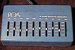 Ross 10 Band Graphic Equalizer