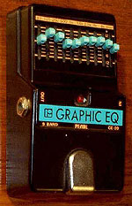 Pearl Graphic Equalizer GE-09