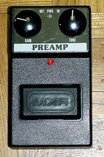 MXR Preamp